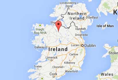 Map Of Shannon Ireland.Map Of Accommodation In Carrick On Shannon Ireland Carrick Holiday