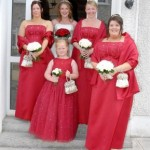 Bridesmaids, wedding in Leitrim