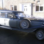 Vintage Wedding Limo Hire in Leitrim